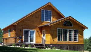 Cabin on the Hill is a 4 season, year-round cabin available for rent at Fernleigh Lodge, Ontario Canada.