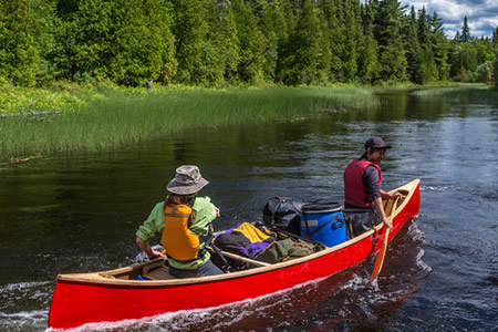 Kashwakamak Lake is part of the Eastern Ontario Canoe Route.