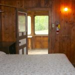 Queen Bed in Chemong #1 at Fernleigh Lodge