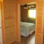 Bedroom entrance - Barn Cabin, Fernleigh Lodge