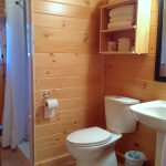 Chemong #2 Cabin - Bathroom at Fernleigh Lodge