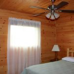 Chemong #2 Cabin - Bedroom View at Fernleigh Lodge