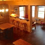 Chemong #2 Cabin at Fernleigh Lodge - Kitchen and Sunroom