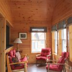 Sunroom at Chemong #2 Cabin at Fernleigh Lodge - Ontario