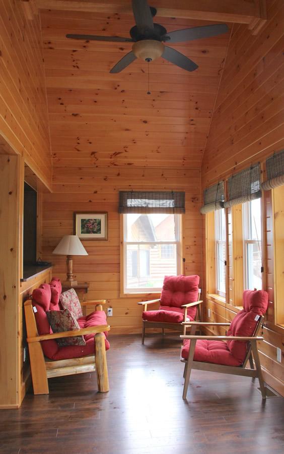 Chemong 1 Rental Cabin At Fernleigh Lodge Wheelchair