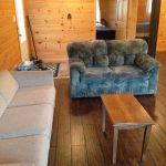 Delco Cabin Sitting Area at Fernleigh Lodge - Ontario's Cabin Rental Resort