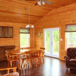 Delco Cabin Kitchen at Fernleigh Lodge - Ontario's Cabin Rental Resort