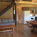 Kitchen, dining area - Barn Cabin
