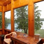 Manor View of the Lake from Screened In Porch - Fernleigh Lodge