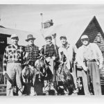 Duck hunters at Fernleigh Lodge