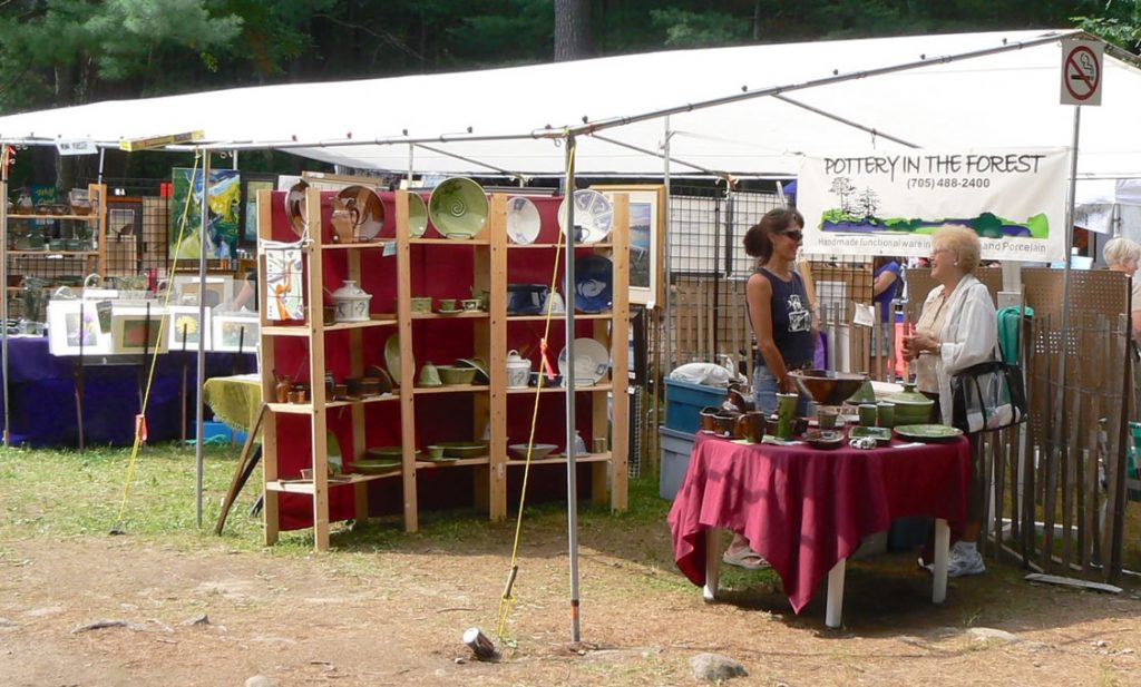The Friends of Bon Echo host an annual Art Exhibition and Sale.
