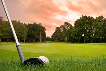 While at Fernleigh Lodge, why not try a round of golf at Hunter's Creek Golf Course?