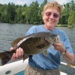 A Happy Angler at Fernleigh Lodge, Ontario