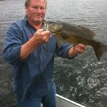 Kevin Phillips was guiding when this nice bass was caught at Fernleigh Lodge.