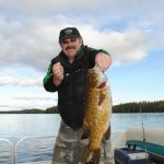 ere's a Big Bass that didn't get away while fishing at Fernleigh Lodge, Ontario Canada.