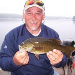 Enjoying a great day of fishing at Fernleigh Lodge in Eastern Ontario.