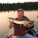 Enjoy great Northern Pike fishing at Fernleigh Lodge near Cloyne Ontario, Canada.