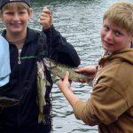 A Nice Day's Fishing at Fernleigh Lodge - Near Cloyne Ontario