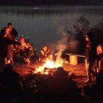 Every rental cabin has a firepit for campfire fun!