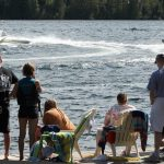 Waterskiing at Fernleigh Lodge - Ontario's Waterfront Resort.