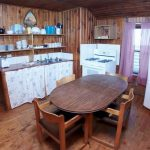 Manor Rental Cabin - Kitchen